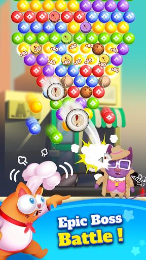 Kitten Games - Bubble Shooter Cooking Game apkmr screenshots 6