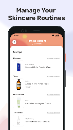 TroveSkin 2.0 Skincare Tracker Apkfinish screenshots 11