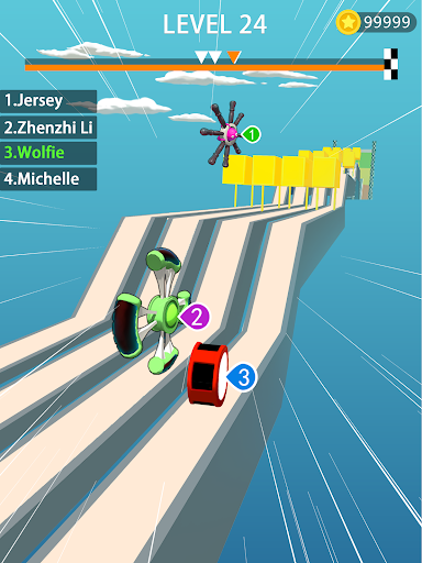 Wheels Run 3D 1.3.5 screenshots 1