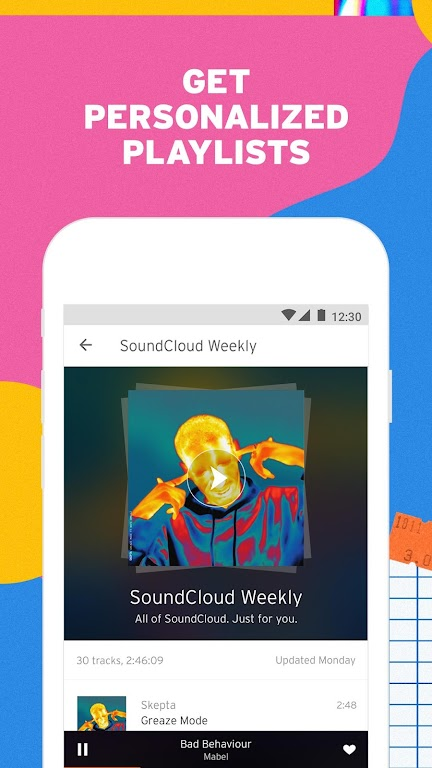 SoundCloud - Play Music, Audio & New Songs  poster 2