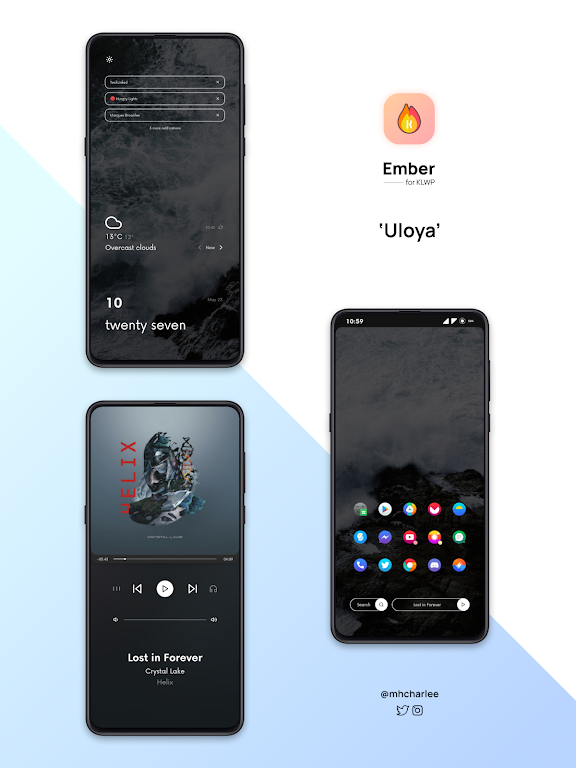 Ember for KLWP  poster 7