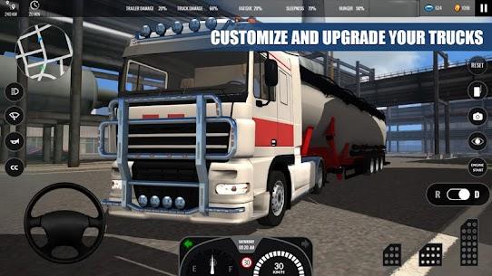 Truck Simulator PRO Europe (MOD APK, Paid/Money) v1.2 4