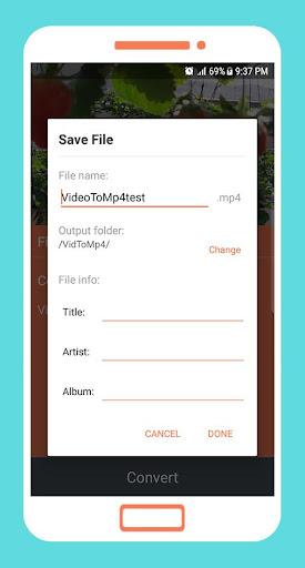 To mp4 3gp webm Video Converter app apktram screenshots 5