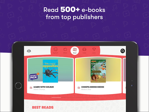 Voot Kids-Cartoons, Books, Quizzes, Puzzles & more android2mod screenshots 2