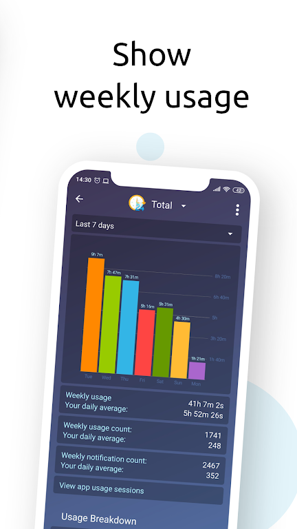 StayFree - Screen Time Tracker & Limit App Usage  poster 4