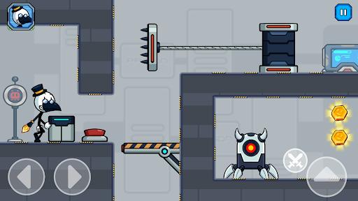 Stick Fight - Prison Escape Journey of Stickman apkpoly screenshots 3