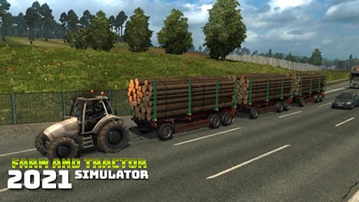 Real Farming and Tractor Life Simulator 2021 android2mod screenshots 2