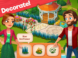 Delicious B&B: Match 3 game & Interactive story