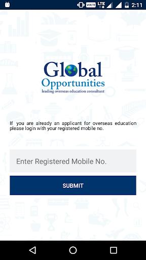 global opportunities. screenshot 1