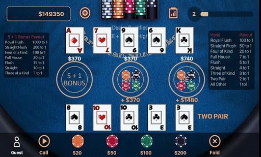Caribbean Stud Poker 1.2.3 screenshots 4