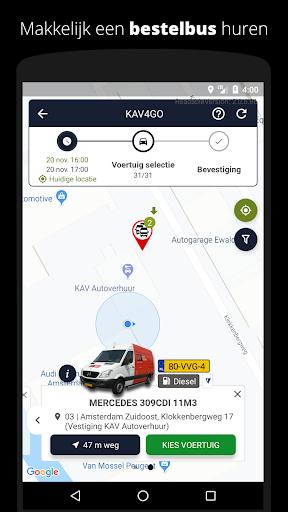 kav2go - by kav autoverhuur screenshot 1