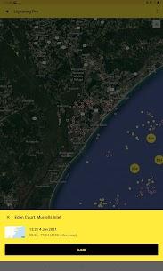 My Lightning Tracker Pro – Live Thunderstorm Map 4