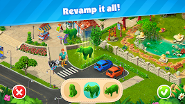 screenshot of Park Town: Match 3 Game with a story!