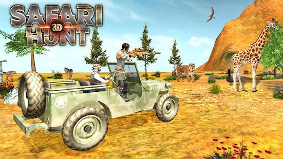 safari hunt 3d hack