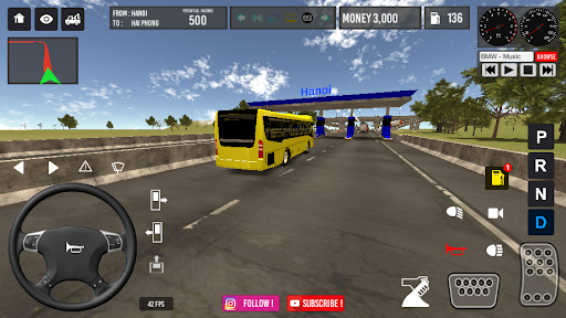 Vietnam Bus Simulator 2.2 screenshots 3
