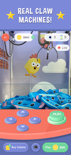 Winner Winner Live Arcade - Real Claw Machines 1.4.3 screenshots 2