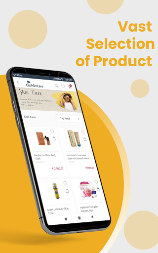 ClickOnCare - The Skin, Hair & Nutrition Store 3.5.8 screenshots 2