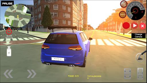 Golf GT Drift Simulator  screenshots 5