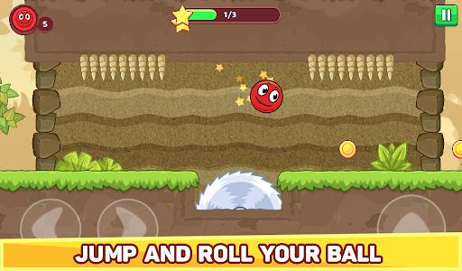 Bounce Ball 5 - Jump Ball Hero Adventure 3.9 Screenshots 17