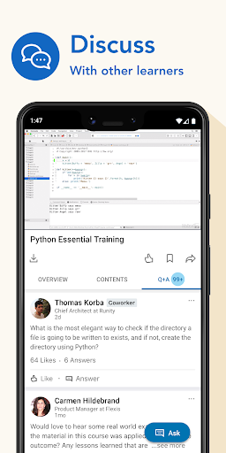 LinkedIn Learning: Online Courses to Learn Skills 0.163.25 Screenshots 5