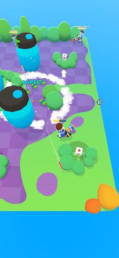 Blast Land 3D modiapk screenshots 1