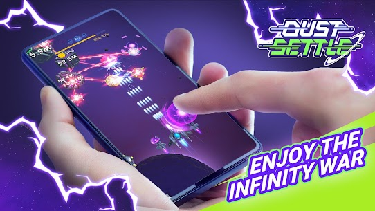 Dust Settle 3D-Infinity Space Shooting Arcade Game MOD APK (Unlocked) 1