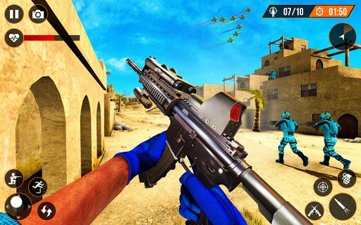 SWAT Counter terrorist Sniper Attack:Action Game 1.1.2 Screenshots 7