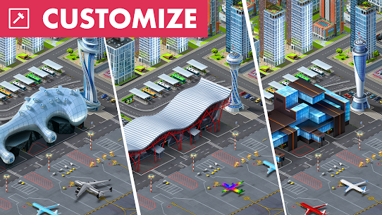 Airport City MOD (Unlimited Money) 3