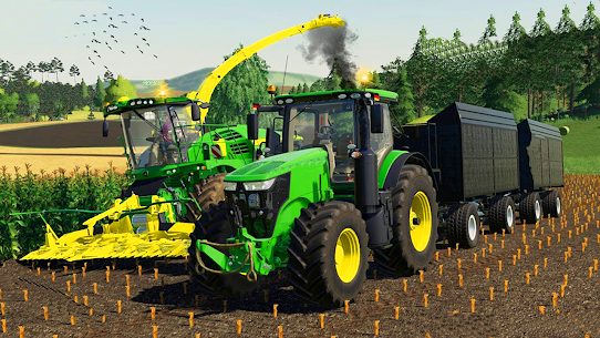 Drive Tractor Farming Game 2021-Combine Harvesters Apk Download 5