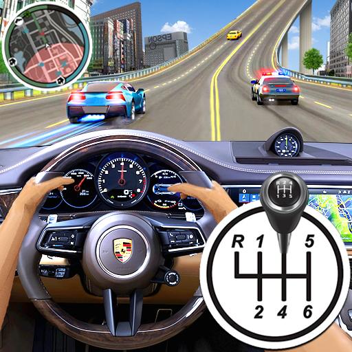 ville conduite école simulateur 3D voiture parking