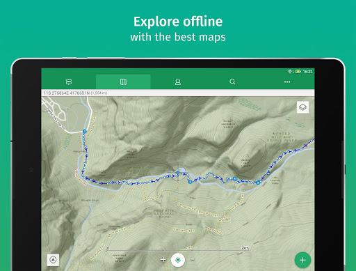 ViewRanger: Trail Maps for Hiking, Biking, Skiing apktram screenshots 2