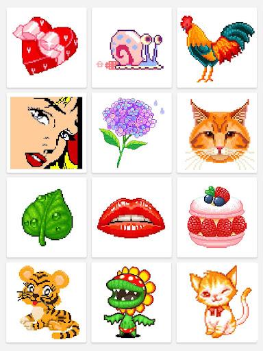InDraw - Color by Number Pixel Art apktram screenshots 8