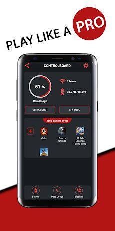 Game Booster Fire GFX- Lag Fixのおすすめ画像1