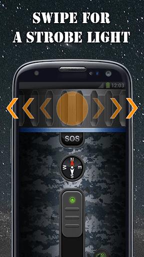 Military Flashlight Free android2mod screenshots 10