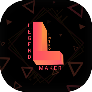 Legend Intro Maker Animated Text Video Maker 1.8 by The World Dictionary App logo