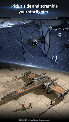 Star Warsu2122: Starfighter Missions apkpoly screenshots 4