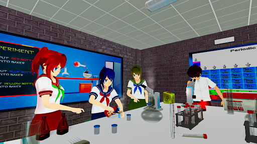 Anime High School Life Days Yandere Girl Simulator screenshots 10