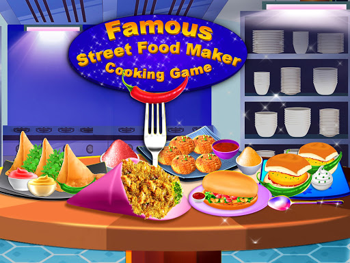 Yummy! Famous Indian Street Food Cooking Game  screenshots 1