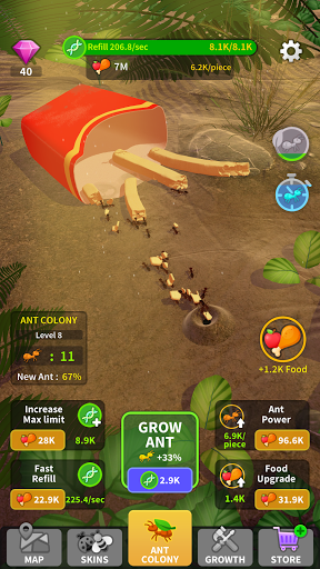 Little Ant Colony - Idle Game 3.1 screenshots 4