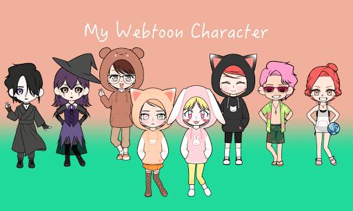 My Webtoon Character - K-pop IDOL avatar maker 2.9.1 screenshots 6