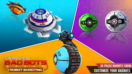 US Police Robot Shooting Crime City Game 2.9 screenshots 9