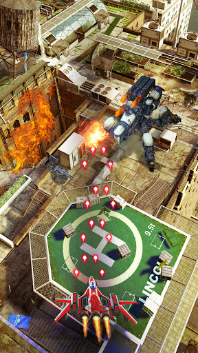HAWK: Airplane games. Shoot em up  screenshots 13