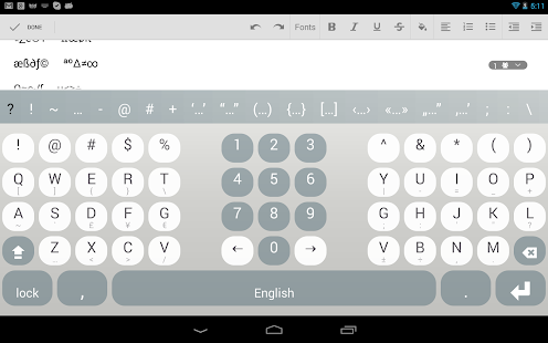 Multiling O Keyboard + emoji screenshots 22