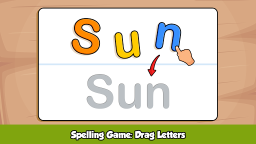 ABC Kids Games - Phonics to Learn alphabet Letters screenshots 2