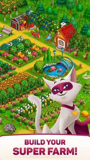 Superfarmers: happy farm & heroes city building 🌻  screenshots 1