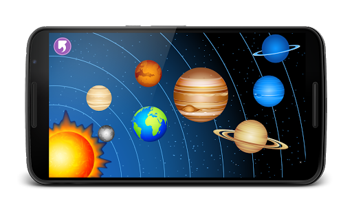 Planets for Kids Solar system  screenshots 1