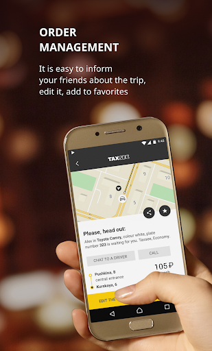 Taxsee: taxi order  Screenshots 3