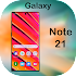 Samsung Note 21 Launcher 2020: Themes & Wallpapers