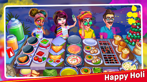 Christmas Cooking : Crazy Food Fever Cooking Games  screenshots 8