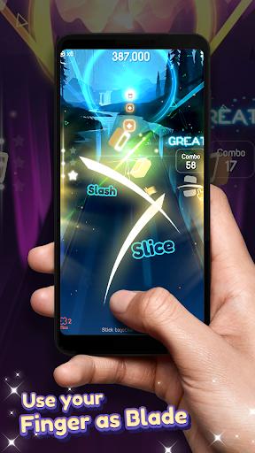 Dancing Blade: Slicing EDM Rhythm Game 1.2.5 Screenshots 13